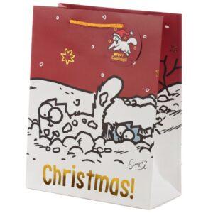 Cadeau verpakking Simons cat